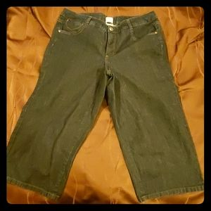 Womens size 16W JMS cropped jeans